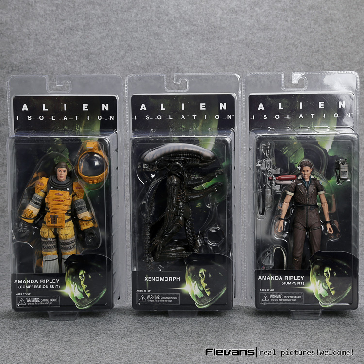 Alien Isolation Xenomorph Amada Ripley PVC Action Figure Collectible Model Toy 18cm neca alien lambert compression suit aliens defiance xenomorph warrior alien pvc action figure collectible model toy 18cm