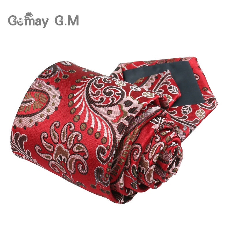 New Casual Floral Ties Jacquard Classic Necktie For Men Suits Mens Business Neck Tie Cravats 8cm Width Groom Neckties