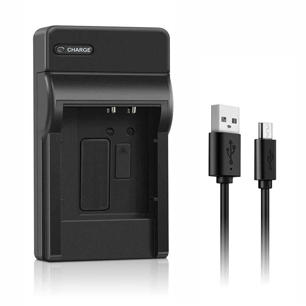Conenset USB charger For Sony NP-BG1 NP-FG1 NP-FT1 NP-FR1 NP-BD1 NP-FD1 NP-FE1 Camera Ba ...