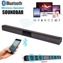 Universal Wireless Bluetooth V4.1 Stereo Speaker Subwoofer Full-Range Speakers Home Theatre Sound Bar for TV Laptop PC