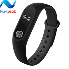 1pc Smart Bracelet Wristband 0 42 Inch OLED Screen Waterproof Support Heart Rate Monitor for Android