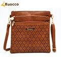 2016 Nueva moda bolsos de hombro bolsos mujeres messenger bag crossbody embrague del monedero del bolso bolsas femininas Ruocco-9001