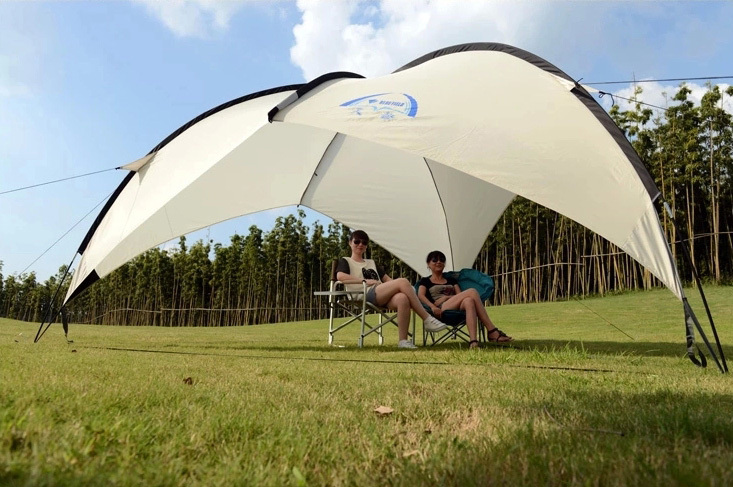 5 8 people Large arbor areas canopy large shade beach tent-in Sun Shelter from Sports u0026 Entertainment on Aliexpress.com | Alibaba Group & 5 8 people Large arbor areas canopy large shade beach tent-in Sun ...
