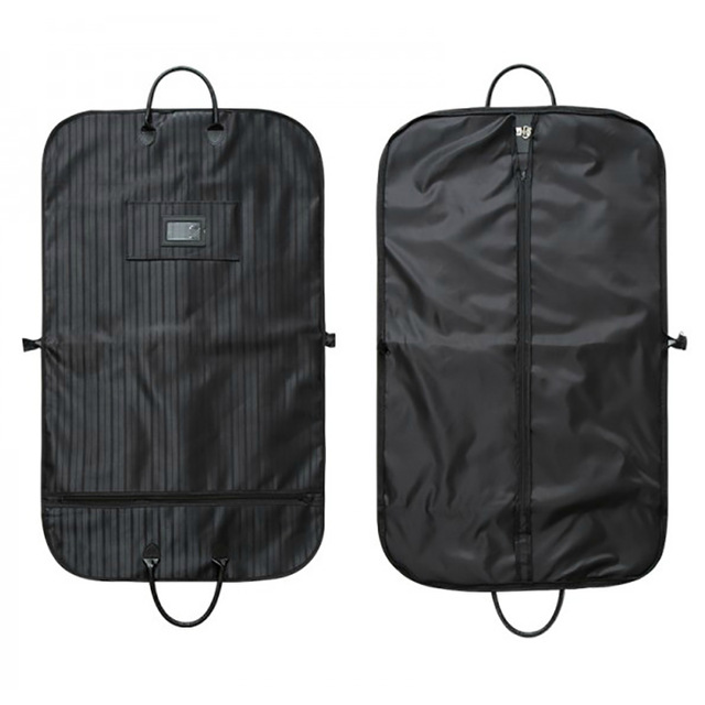 Portable Travel Clothes Bag Business Garment Suit Jacket Coat Shirt Storage Protection Cover Dust Waterproof Oxford Fabric FC83