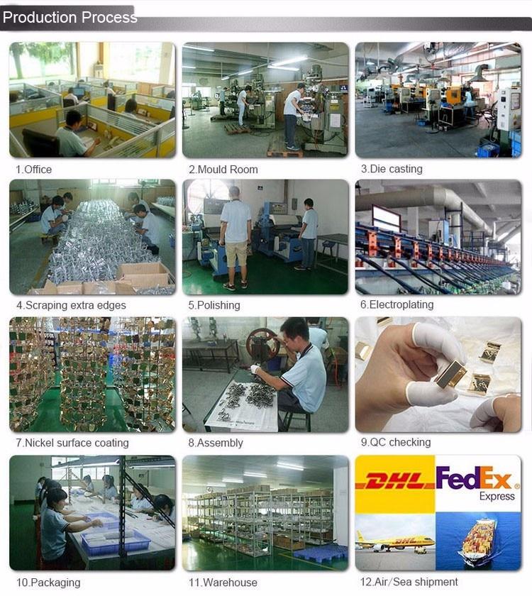 bolsas fábrica de ferragens preço por atacado 10 conjuntos cromo