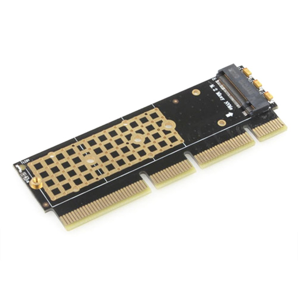 JEYI MX16-1U M.2 SSD TO PCI-E 3.0 X4 X8 X16 Adapter M Key Interface Card Suppor PCI Express for 2280 m.2 FULL SPEED
