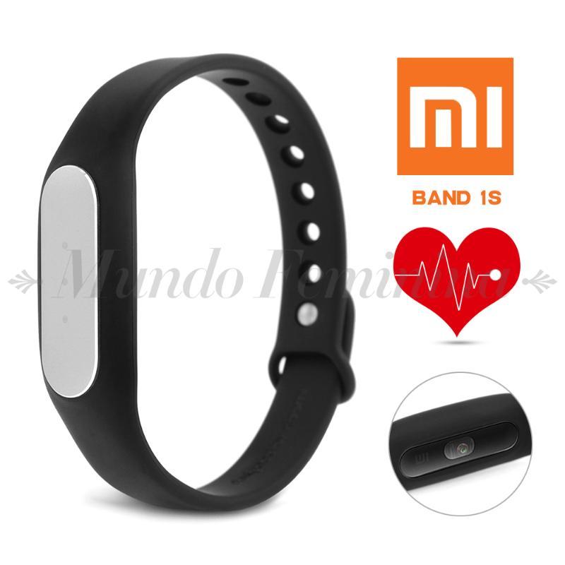 Original Heart Rate Xiaomi Mi Band 1S font b Smart b font Wristband Bracelet Monitor font