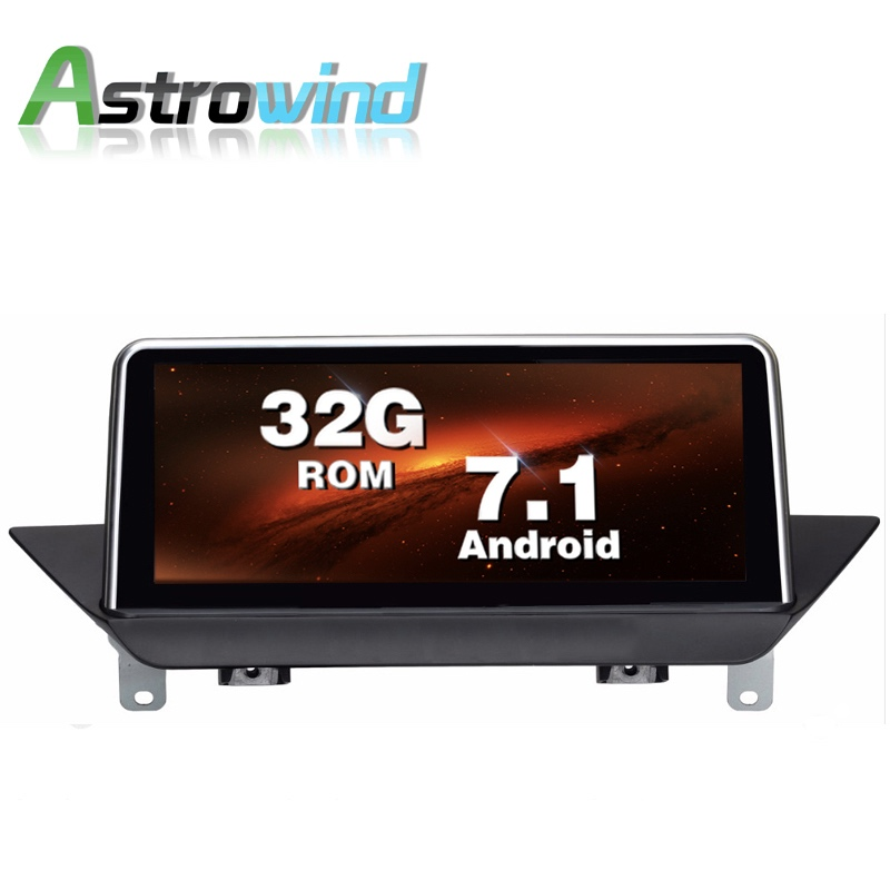 10.25 inch 2G RAM 32G ROM Android 7.1 System Car GPS Navigation Media Stereo Radio For BMW X1 E84 supply with idrive