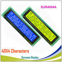 404 40X4 4004 Charakter LCD Modul Display LCM Gelb Grün Blau mit Led-hintergrundbeleuchtung Bauen-in SPLC780D Controller