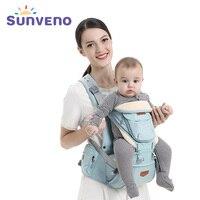 Sunveno Brand Ergonomic Baby Carrier Sling Backpack 360 Hipseat Baby Wrap Sling for Newborn Kangaroo Baby Holder Belt for Kids