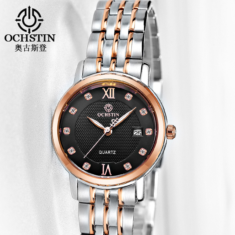 Watch Women Top Brand Luxury OCHSTIN Fashion Quartz Watches Women Dress Clock relogio feminino Ladies Wristwatch Montre Femme misscycy lz the 2016 new fashion brand top quality rhinestone men s steel band watch quartz women dress watch relogio feminino