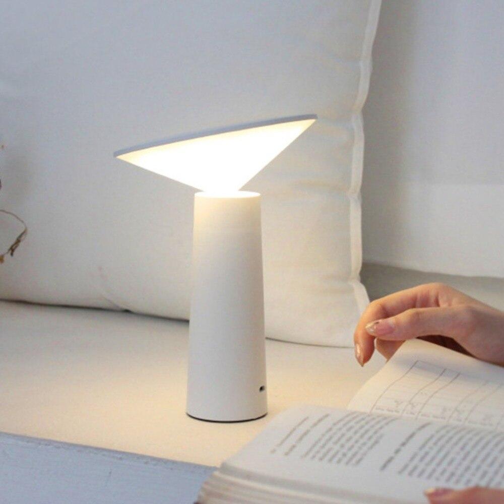 Entusiasta Lámpara De Escritorio Moderna, Lámpara De Mesa Led Usb, Lámpara De Mesa Led, Lámpara De Escritorio Con Sensor Táctil Para Estudio Buena Calidad