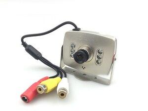 Image 3 - CCTV Lente de 2.8mm de Áudio e Vídeo HD 1000TVL Cor MIC Analógico IR MINI Câmera Do Carro