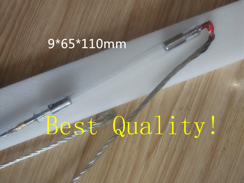 9*65*110mm Top quality  IPL Xenon/flash lamp with wholesale price ipl lamp 7 60 120mm best quality ncrieo ipl xenon lamp e light xenon bulb with wire