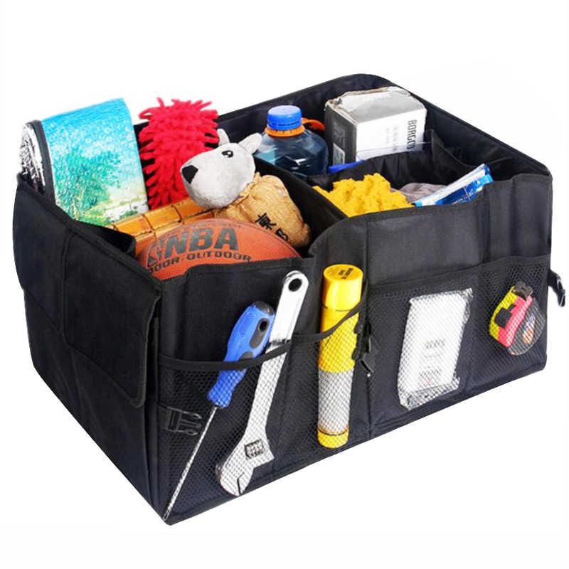 Boîte de rangement de cargaison pliable Super forte et Durable qui respecte l'environnement d'organisateur de coffre de voiture d'eafc pour la boîte de coffre de SUV de camions automatiques