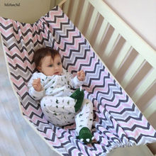 NoEnName-Null Infant Safety Baby Hammock Printed Home Outdoor Detachable Portable Comfortable Bed Kit Hanging Seat Garden Swing(China)