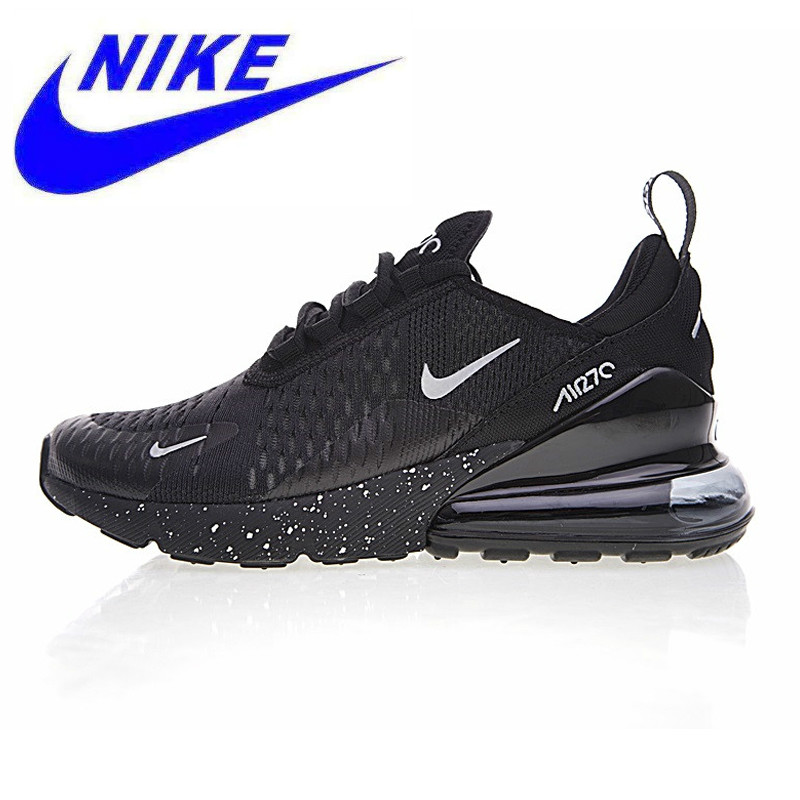 buy popular ce98a d3703 Original Nike Air Max 270 Men s Running Shoes,Sports Outdoor Sneakers Shoes,  Black Orange, Breathable AH8050-016 AH8050-202