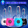 Dancing Water Wireless Speaker Supports Memory Card / USB Flash Drive Mini Portable Bluetooth Audio Player with AUX IN Function