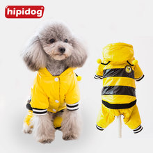 Hipidog Dog Bee Costume Clothes Hoodies Warm Winter Cotton Cute Pet Jacket Autumn Jumpsuit Clothing For Puppy Dogs