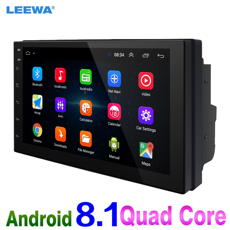 LEEWA NEW ! 7 7inch Ultra Slim Android 8.1 Quad Core Car Media Player With GPS Navi Radio For Nissan/Hyundai 2DIN ISO #CA5437LEEWA NEW ! 7 7inch Ultra Slim Android 8.1 Quad Core Car Media Player With GPS Navi Radio For Nissan/Hyundai 2DIN ISO #CA5437