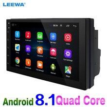 """LEEWA NUOVO! 7 """"7 pollici Ultra Sottile Android 8.1 Quad Core Lettore Multimediale Auto Con Navi Dei GPS della Radio Per Nissan/ hyundai 2DIN ISO # CA5437"""