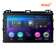 9″ DA screen Android 6.0 Car DVD Player GPS For Toyota Prado 120 Land Cruiser 2004-2009 audio car radio stereo navigator wifi