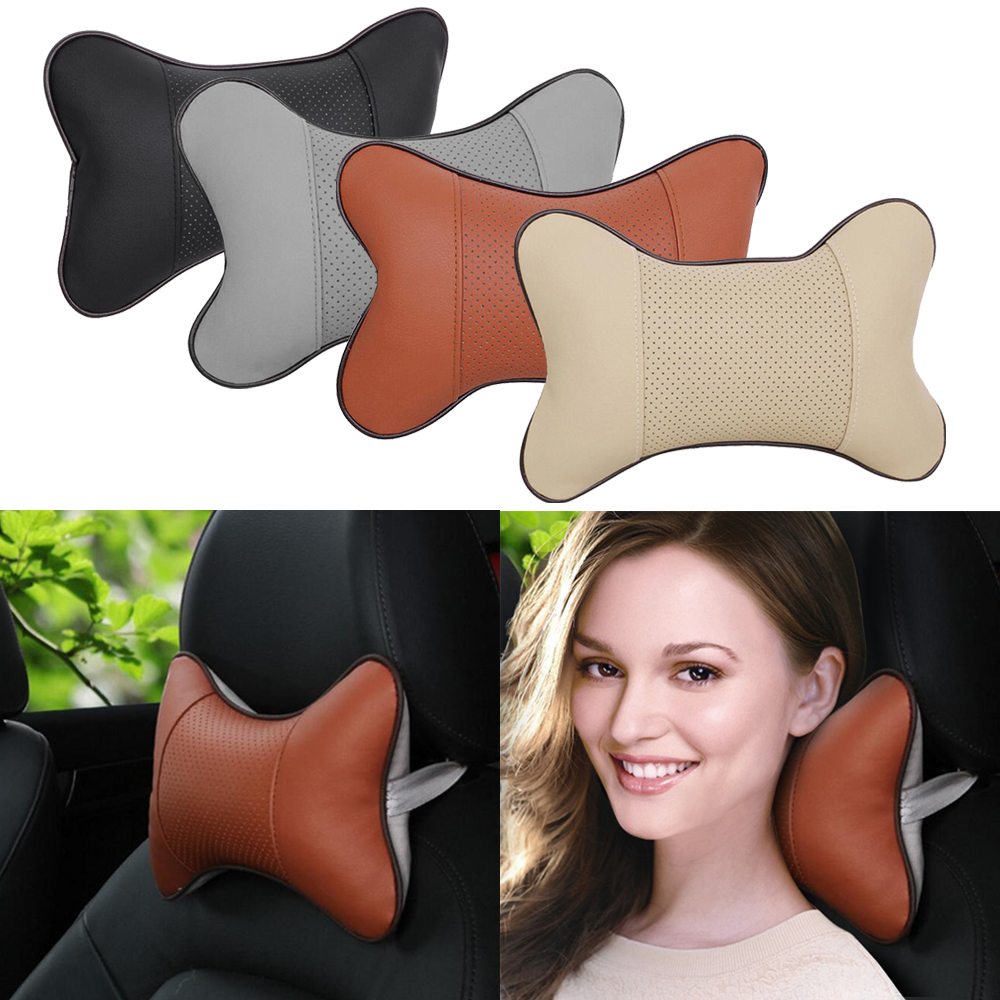 1Pcs Car Seat Head Neck Pillow Rest Safety Cushion Support Pillow Headrest Pad For Ford BMW For TOYOTA For Volkswagen For Audi