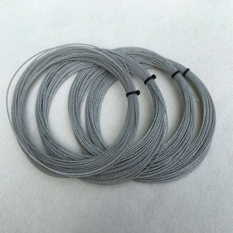 1 Pc High Quality Grey Color Tennis String 1.3mm 12M Tennis Rackets String Nylon String