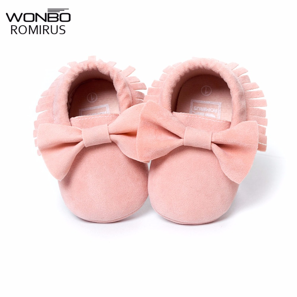 NEW Styles Baby Soft Flock Tassel Moccasins Girl Moccs Baby Booties Shoes Moccasin design baby shoes Newborn shoes Pink color