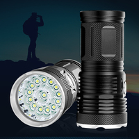 72000 LM Powerful LED Mini Flashlight Waterproof Hard Light T6 Hunting Torch with 3 Modes Powered by 18650 Battery(Not Included)