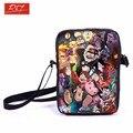 Anime gravedad Falls Mini bolso del mensajero Mabel Dipper mochilas los niños GIirls bolsos de escuela para aperitivos niños niños mejor regalo bolsa