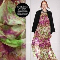 Silk Chiffon Silk Fabric Cloth Clothing Wholesale High Quality Silk Garment Cloth