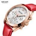 Женские часы  роскошные кожаные кварцевые женские красные часы  кожаные Наручные часы  женские модные часы  2019