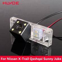 KLYDE Auto CCD di Inverso di Retrovisione Night Vision Camera Per Nissan Sunny X-Trail Qashqai Navara Juke Nota Pathfinder Geniss Armada