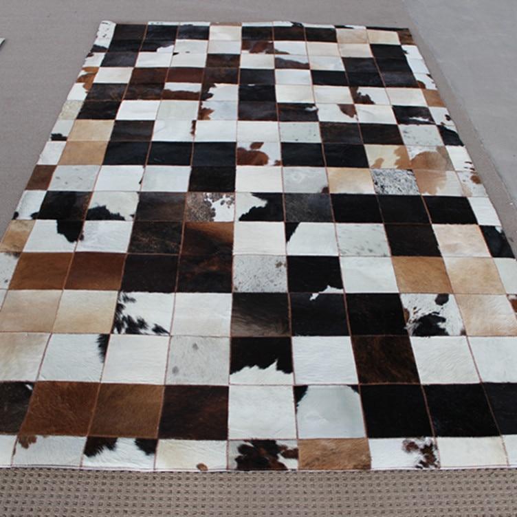 2018 entrega express libre 1 unidades 100% natural de cuero de vaca  alfombra borde tira 954e7d5accf6