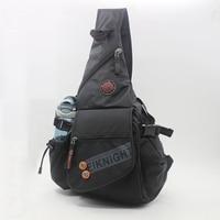 Men Nylon Single Backpack Cross Body Water Bags Large Capacity Knapsack Casual Chest One Shoulder Rucksack Bag High Quality