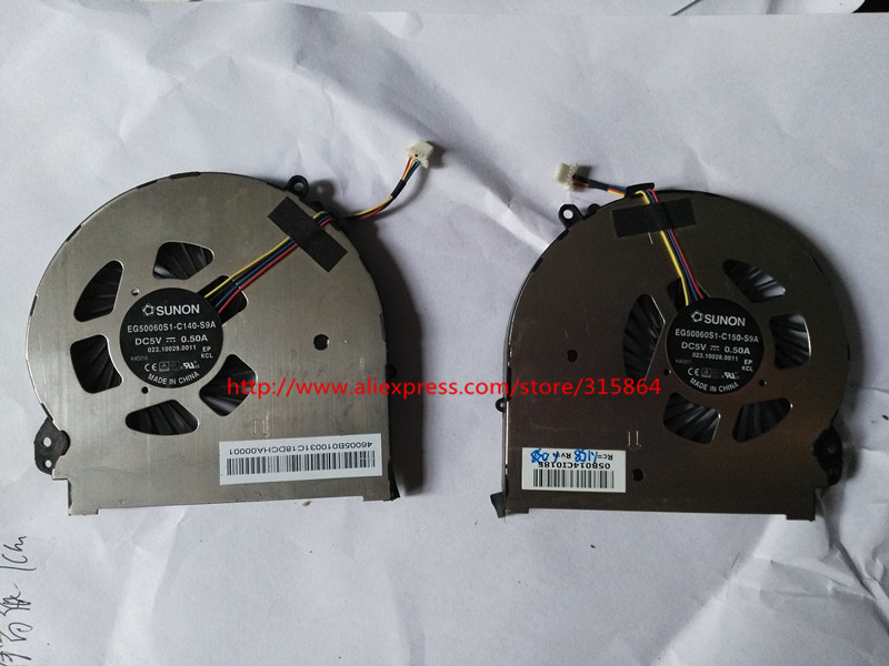 2 pcs New laptop cpu cooling fan for HP 15-5016tx 15-5014TX L&R EG50060S1-C140-S9A pair bacchetta s r l a socio unico