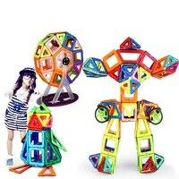 240 шт. чистый Магнитная дизайнеры строительство Конструкторы Игрушечные лошадки DIY 3D и дизайнер обучения образовательные КИРПИЧ детей Игру