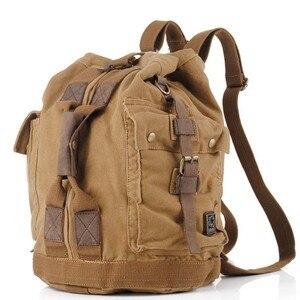 Image 1 - באיכות גבוהה גברים תרמיל רוכסן מוצק גברים של נסיעות BagsBackpacks בד תיק המוצ ילה masculina bolsa בית ספר שקיות