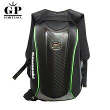 Мотоциклетные рюкзаки для OGIO Kawasaki из углеродного волокна, жесткие сумки для водонепроницаемых мотоциклетных сумок, Мото GP рюкзак для верховой езды