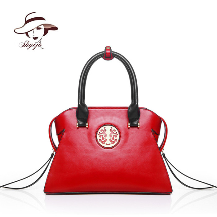 2018 Classical National Chinese Style Embossed Women Messenger Bag Vintage Fashion Leather Handbags Ladies Female Shoulder Tote hot sale pu leather bag for women vintage chinese fusion style floral embossed ladies handbags female totes clutch bag hq1062