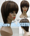 mono Lace Wigs Brazilian Front Lace HumanHair Wigs ,Lace Front Wig Short Bob Wigs free shipping