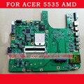 Frete grátis laptop motherboard para Acer Aspire 5535 MBAUA01001 motherboard 48.4K901.021 com amd DDR2 integrado totalmente teste