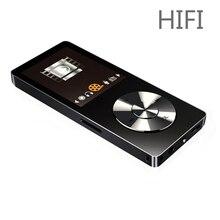 2017 Original de Alta Fidelidad Reproductor de MP3 con Altavoz de Metal de Alta Calidad Soporta 128 GB Tarjeta de Memoria de 8 GB Reproductor de Música Sin Pérdidas con FM Radio
