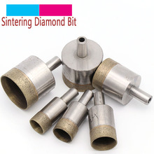 1pc Shank 10mm Sintered Diamond Core Drill Bits 46-86 Straight Hole Saw Bench Drill for Glass Ceramic Stone Marble Jade Plastic 155mm 6 2 inch electroplated rapid ncctec diamond core drill bits ecd155 free shipping wet glass wall coring bits