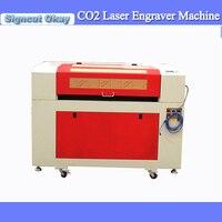 Fabrik preis CNC CO2 laser graviermaschine holz lasergravur 6090 ruida system unterstützung RD arbeitet software