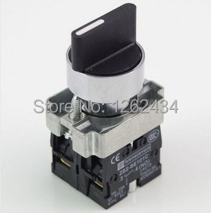 цена на XB2BD53C 2NO 3 Positions Momentary Select Selector Switch Replaces Telemecanique