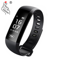 R5MAX Smart Bracelet Heart Rate Fitness Tracker Blood Pressure Smartband Message Reminder Bluetooth M2 Wristband PK