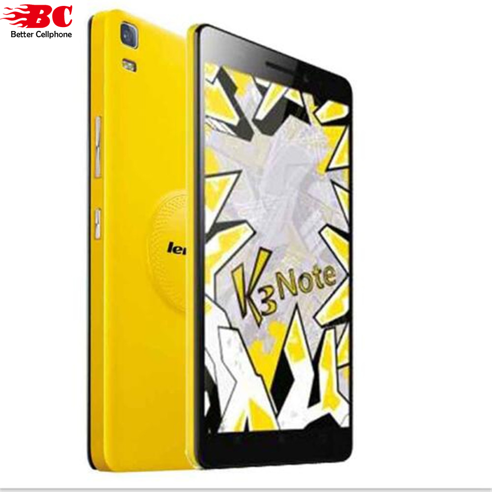 Original Lenovo K3 Note K50-T5 Android 5.0 Mobile Phone MTK6752 Octa Core Dual SIM 4G LTE 5.5inch 2G RAM 16G ROM 13MP SmartPhone