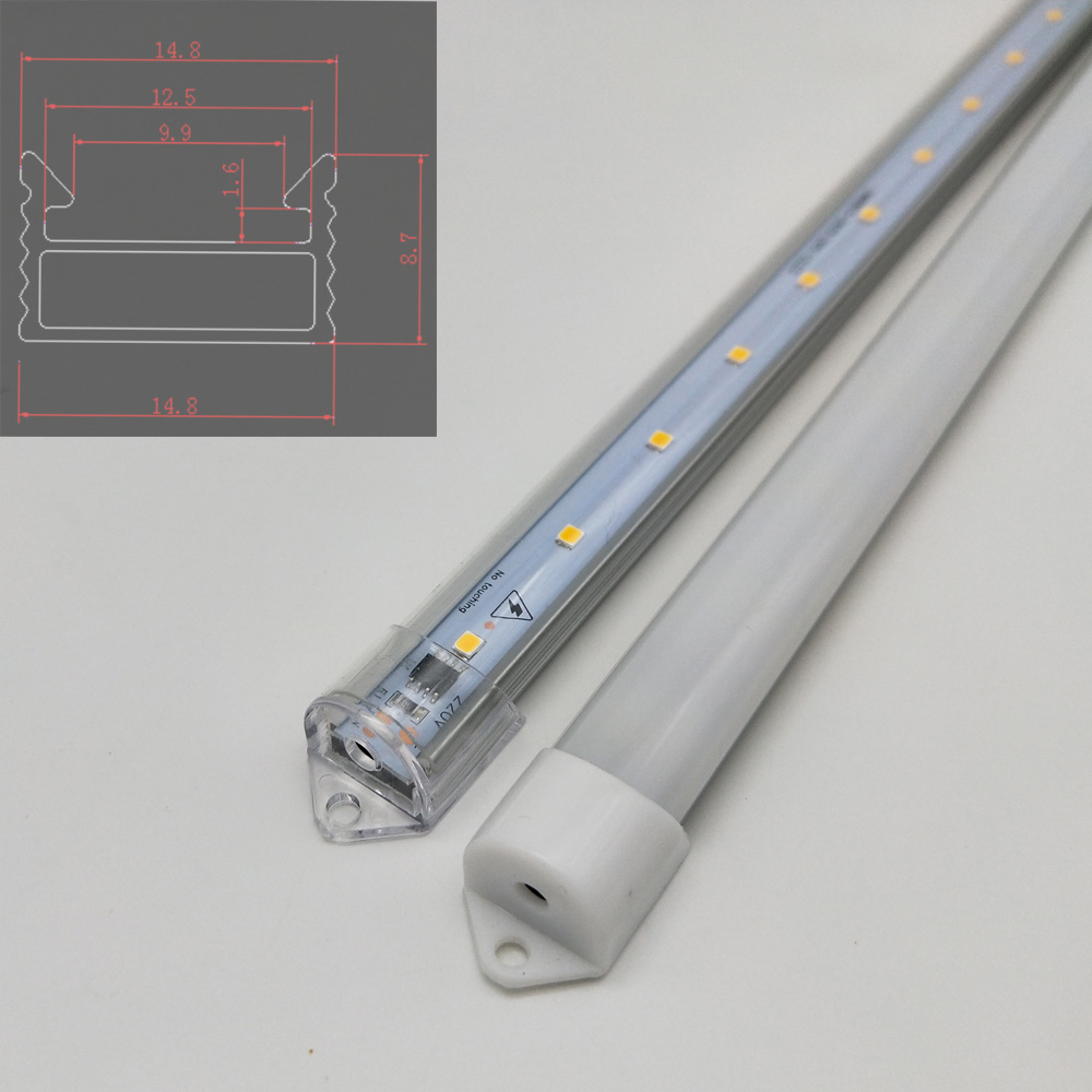 5pcs AC 220v LED rigid strip Driverless under cabinet kitchen lighting 30cm 50cm 60cm 2835 led bar light indoor no need power стоимость